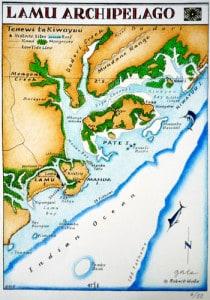 Lamu Archipelago - 3 tropical islands: Lamu, Manda and Pate
