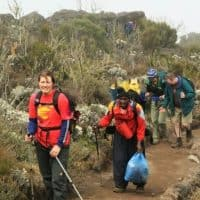 Rongai Route 6 Days climb on Kilimanjaro