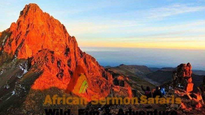 Climb Mount Kenya Chogoria Route
